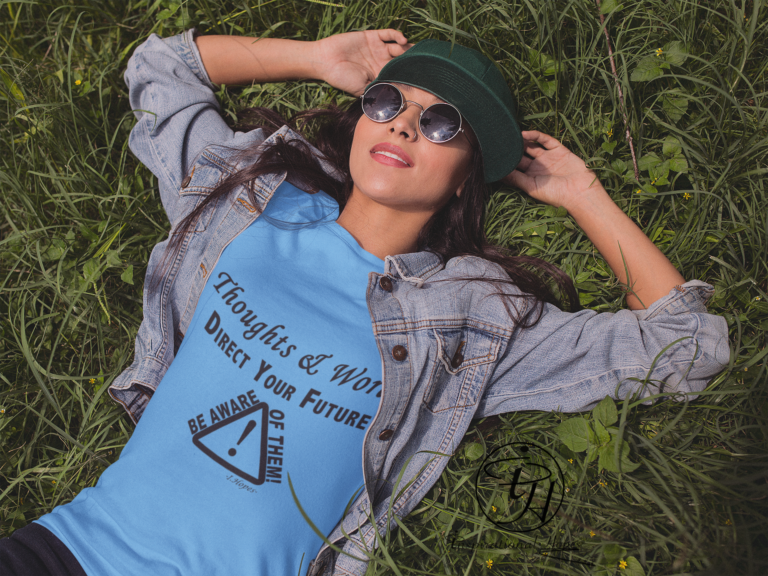 mockup-of-a-trendy-girl-wearing-a-t-shirt-lying-in-the-grass-a11735